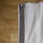 Exposed zipper mini tutorial
