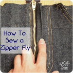 How to Sew a Zipper Fly