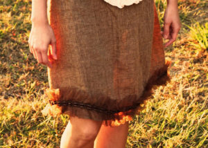 Tulle ruffle skirt tutorial - Melly Sews