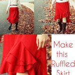 All Your Life Skirt – Ruffled Skirt Tutorial