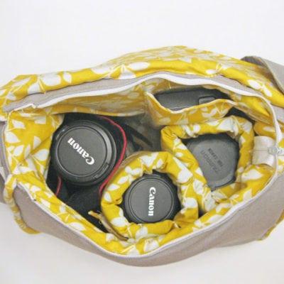 Padded Camera Bag Pattern
