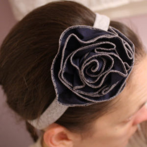 Flowered Headband Tutorial - Melly Sews