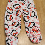 Adding footies to pajamas