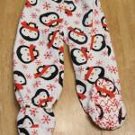 Adding footies to pajamas