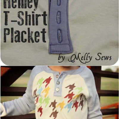 Henley T-Shirt Placket