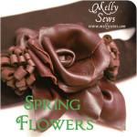 Leather flower belt tutorial