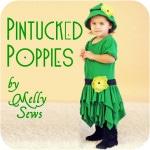 Pintucks and handkerchief skirt tutorial