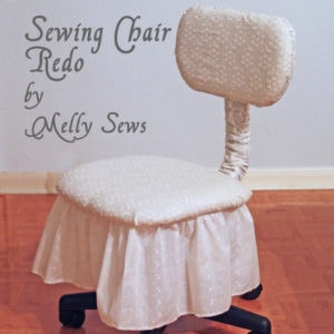 Sewing chair makeover - Melly Sews
