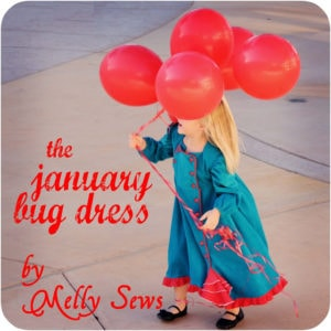 The January Bug Dress Tutorial - Melly Sews