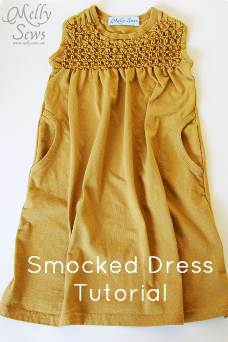 Smocking Tutorial For Beginners Melly Sews