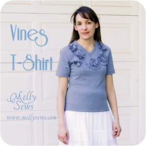 Vines T-Shirt Refashion -Sewtorial