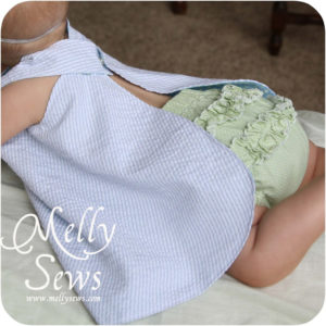 Ruffle Bloomers Tutorial - Melly Sews