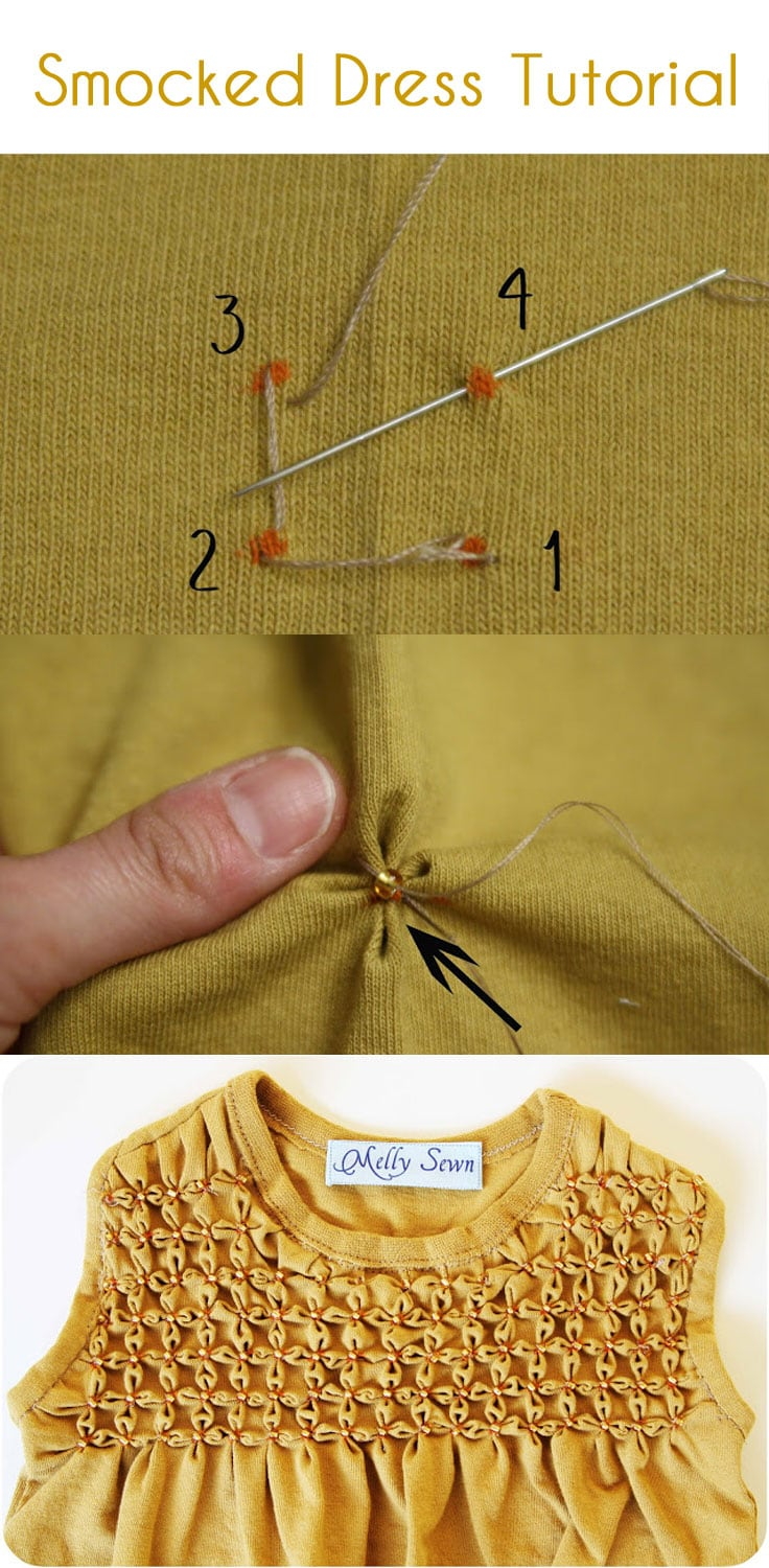 6c23e9433 Smocking Tutorial for Beginners - Melly Sews