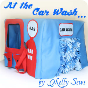 Car wash tutorial- Melly Sews