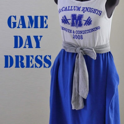 Game Day Dress Tutorial
