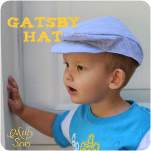Toddler Boys Gatsby Hat to Sew