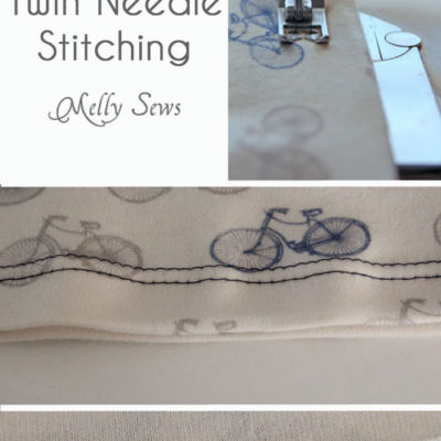 Twin Needle Stitching