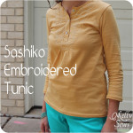 Sashiko Tunic Tutorial and Free Pattern