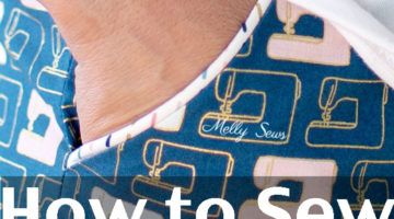 How to sew piping - make and use piped trim - Melly Sews