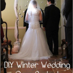 Winter Wedding on a Budget – DIY Backdrop Tutorial