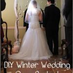 Winter Wedding on a Budget – DIY Backdrop Tutorial