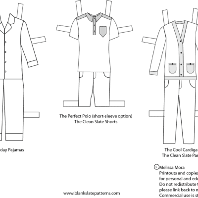 New Free Printable Boy Paper Dolls!