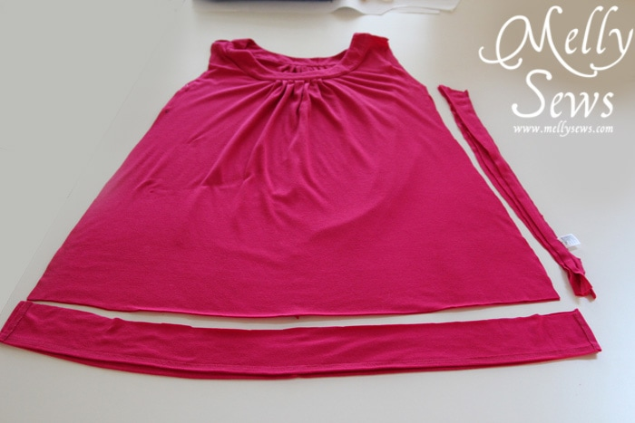Melly Sews dress refashion