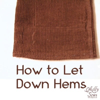 How to Let Down Hems