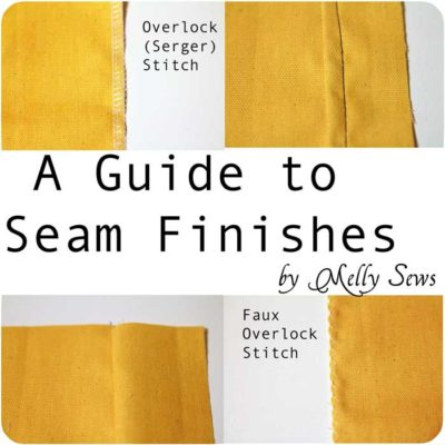 A Guide to Seam Finishes