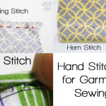 Hand Sewing Stitches for Garment Sewing