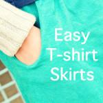 Easy T-shirt Skirt Tutorial