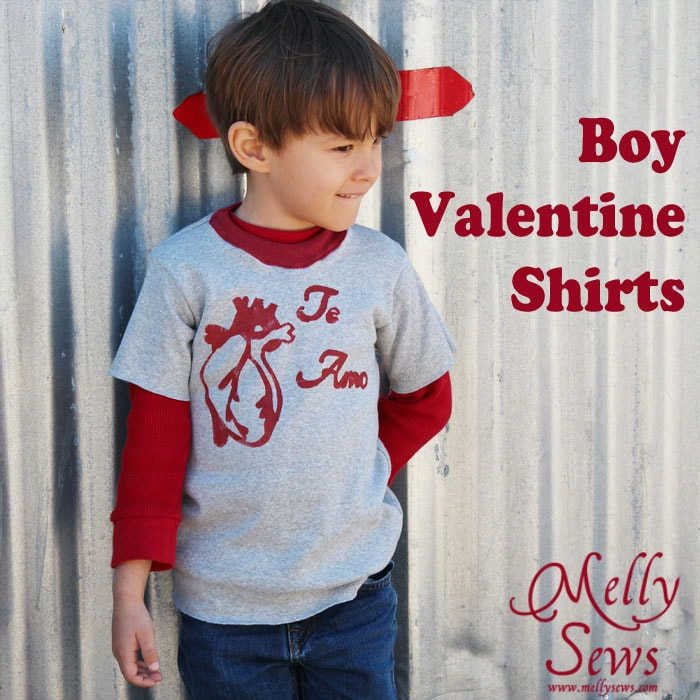 boy valentine shirts