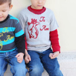 Boy Valentine Shirt Tutorial and Printable