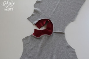 how to sew a t-shirt