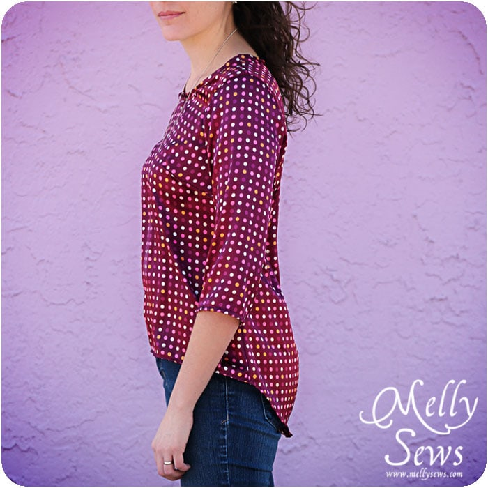 High Low Top Pattern by Melly Sews