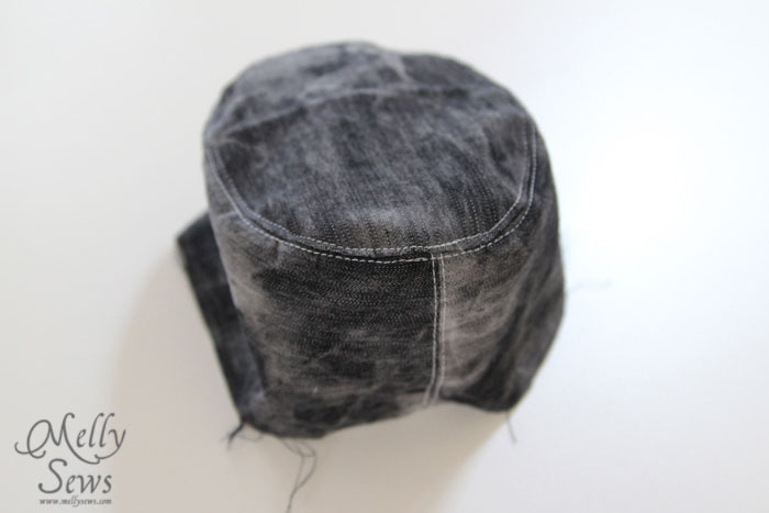 fedora hat tutorial by Melly Sews