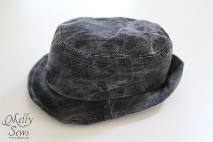 b3bc0af2 Fedora Hat Tutorial and Pattern - Melly Sews