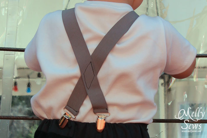Suspenders tutorial by Melly Sews