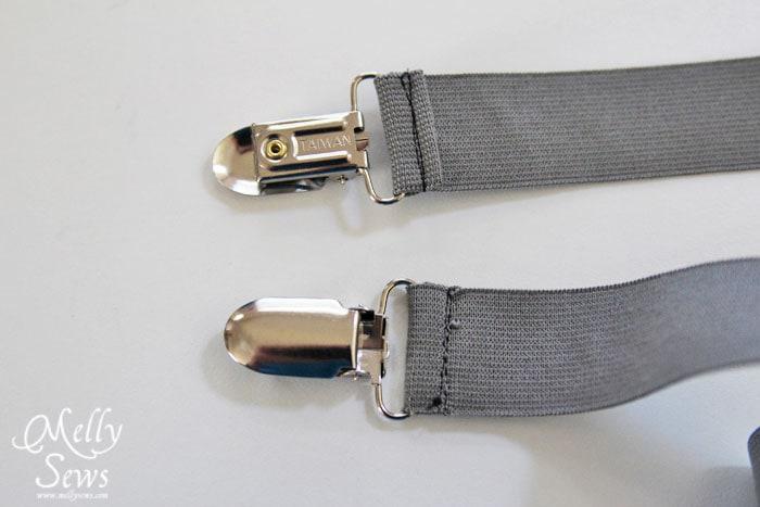 Suspenders tutorial by Melly Sews
