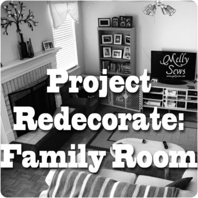 Project Redecorate: Family Room – Rearrange