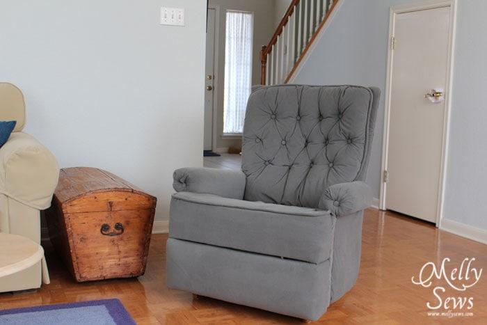 Reupholster a Recliner