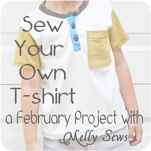 sew your own t-shirt