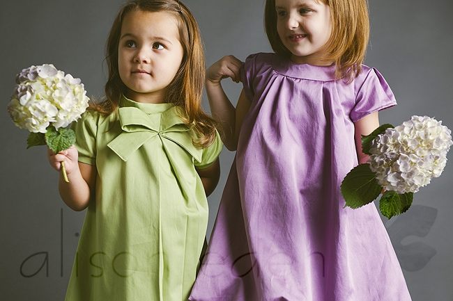 Alison Eden photograph's Blank Slate Patterns spring collection