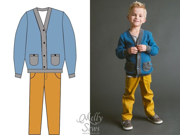 Blank Slate Patterns Spring Sewing Patterns: The Cool Cardigan, Blank Tank and Clean Slate Pants