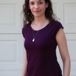 Casual Lady Top by GoTo Patterns Sewn by Melly Sews