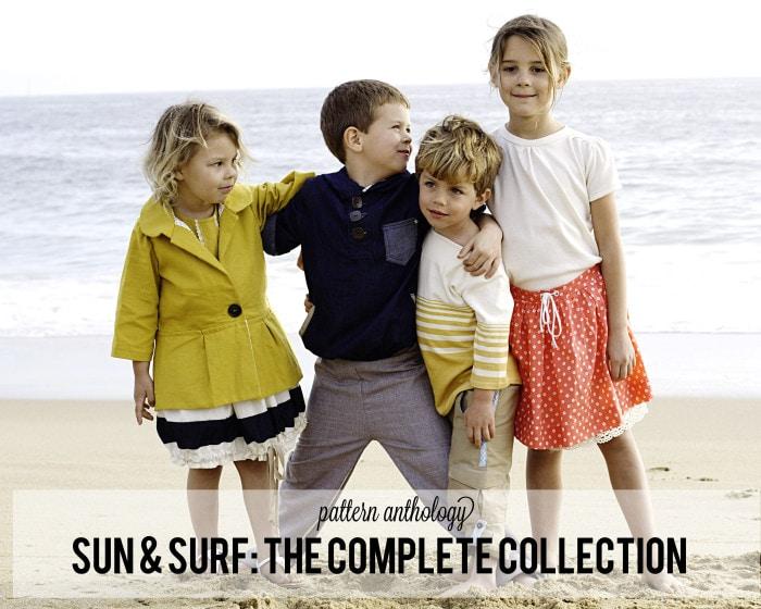 Pattern Anthology Presents: Sun & Surf Collection PDF Sewing Patterns available at patternanthology.com