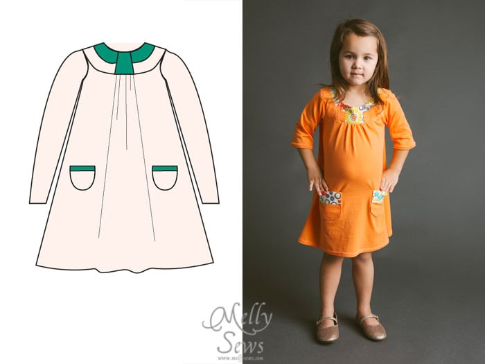 Blank Slate Patterns Spring Sewing Patterns: The Pristine Swing Dress