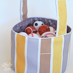 Make a Fabric Easter Basket Tutorial