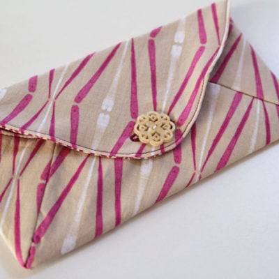 Letter Sized Envelope Clutch