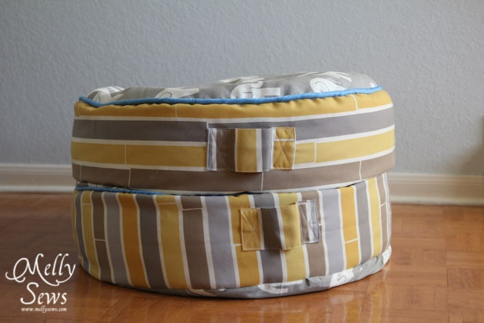 Sew Floor Pillows with Melly Sews